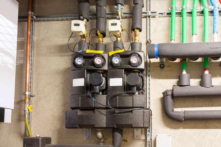 circulation: Circulation pump energy-saving in the boiler room