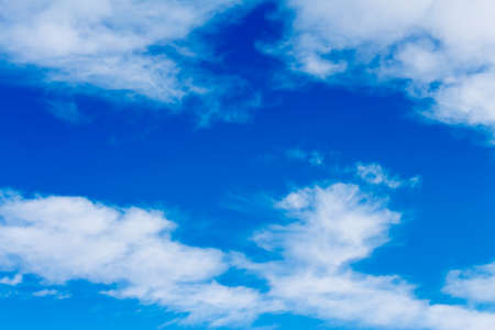 cirrus: background with blue skies and high cirrus clouds