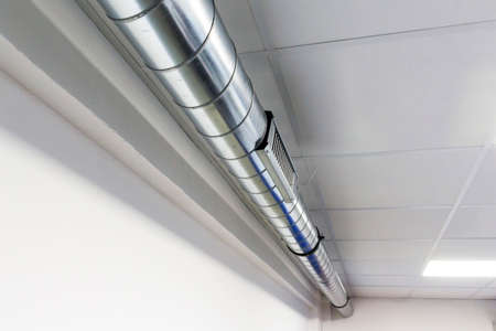 vent and air ducts for air conditioning system Standard-Bild