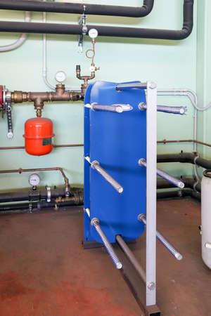 Plate heat exchanger for heating Standard-Bild