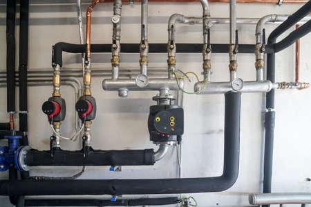 Circulation pump energy-saving in the boiler room