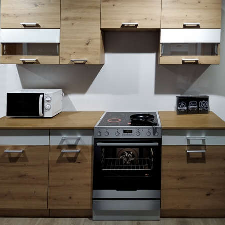 New kitchen design cabinets Imagens