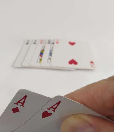 Double Ace Poker Cards, Winner