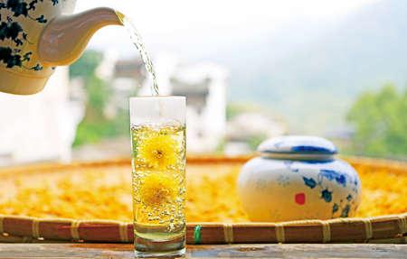 Wuyuan chrysanthemum tea