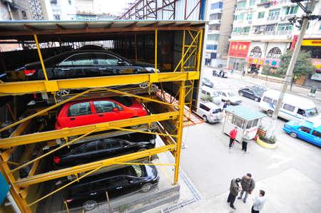 garage: Parking garage