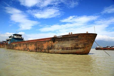 old ship: Old ship