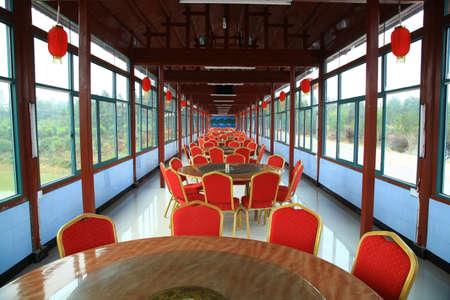 life extension: Interior of restaurant