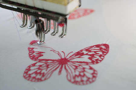 embroidery: Embroidery machine