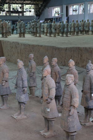 funerary: Mausoleum of the First Qin Emperor