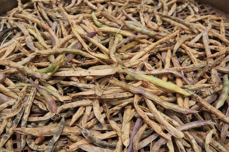 dried vegetables: Legumbres y hortalizas secas Foto de archivo