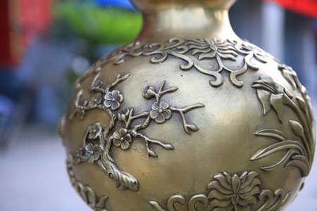 cobre: Productos de cobre Foto de archivo