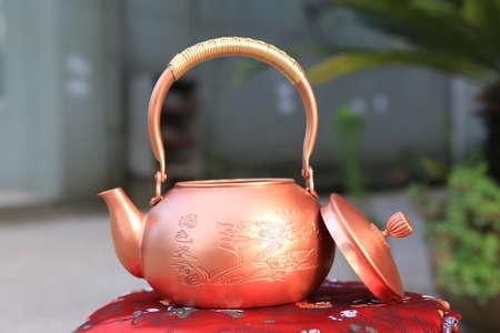 cobre: Tetera de cobre