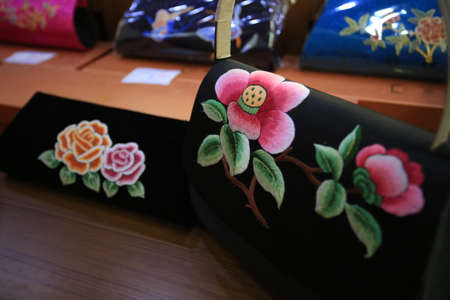 commodities: Closeup of Han Embroidery