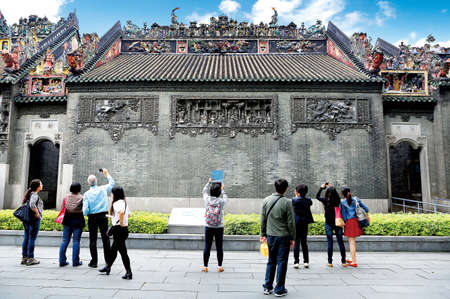 clan: Chen clan temple