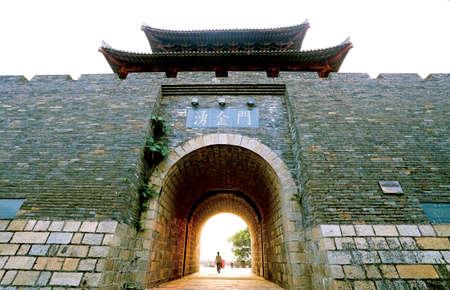 Puerta de la ciudad Foto de archivo - 42313659