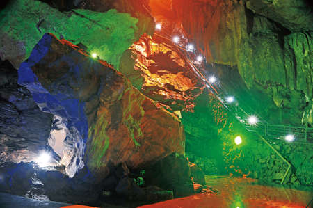 colourful lightings: Cave