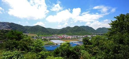 chang: Chang Fang Village Stock Photo