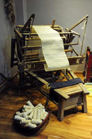 machines: Textile machines Stock Photo