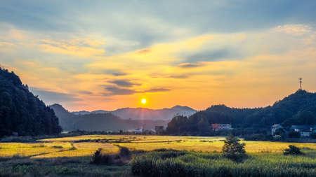 puesta de sol: Puesta del sol