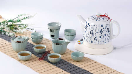 tea set: Tea set Editorial