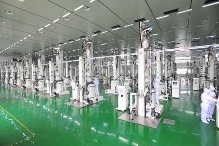 silicone: Silicone production line Editorial