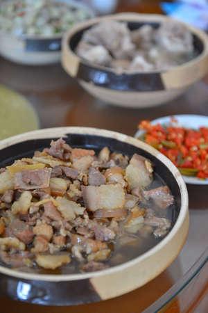carnes: Carnes cocinadas