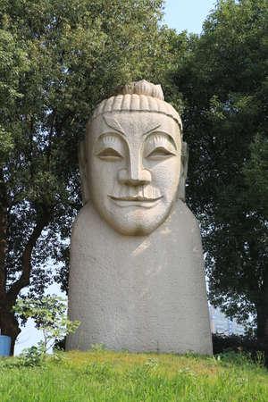 nabi: Stone carving