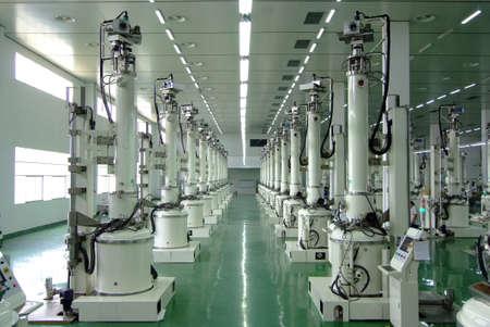 silicio: la producción de silicio lingote