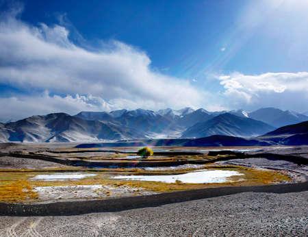 sierra snow: mountain  Stock Photo