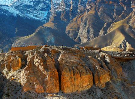 gully: Mountain Stock Photo