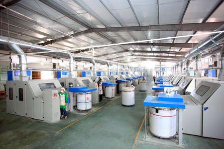 industria textil: La industria textil - ver el interior de la f�brica