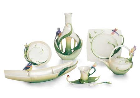 Art porcelain Stock Photo