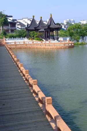 superficie: área escénica Hu Mei