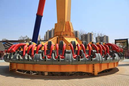 topple: Topple tower at Wanda cultural theme park