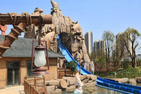 Entertainment facilities at  Wanda cultural theme park