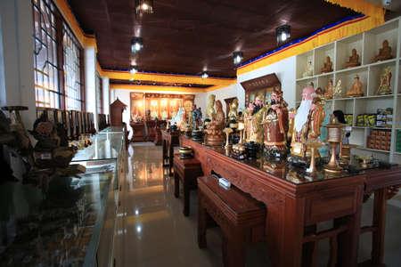 merchandise: buddha merchandise at temple