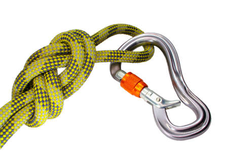 carabiner: Eight Knot With Carabiner