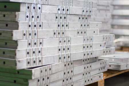 aluminium: Pile of Aluminium Alloy