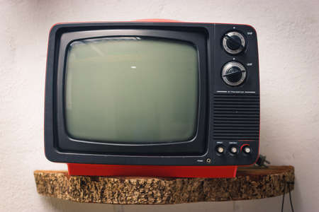 Red old TV