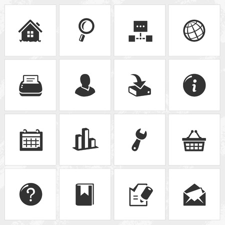 Internet vector icons. File format is EPS8.