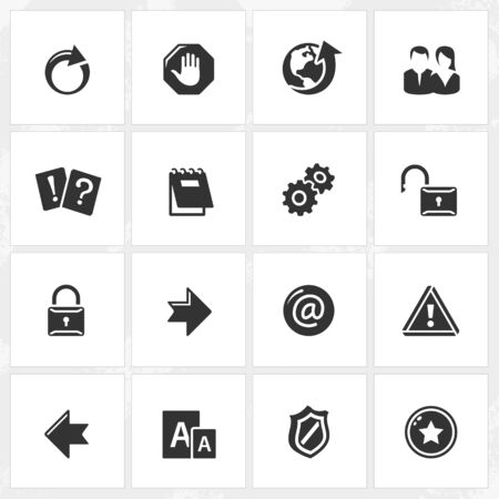 file format: Internet vector icons. File format is EPS8.