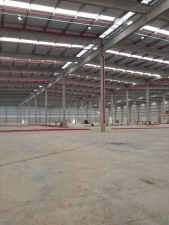constrution: Warehouse background  Stock Photo