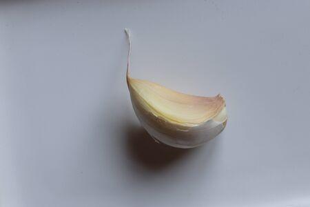 Photography of isolated garlic clove for food illustation Reklamní fotografie