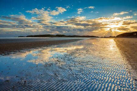 ynys: Returning from Ynys Llanddwyn along the beach at Newborough, Angelsey, North Wales, I turned to reflect on the natural beauty of this wonderful Island