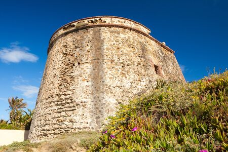 sol: Ancient Moorish Watchtower on the Costa del Sol, Spain