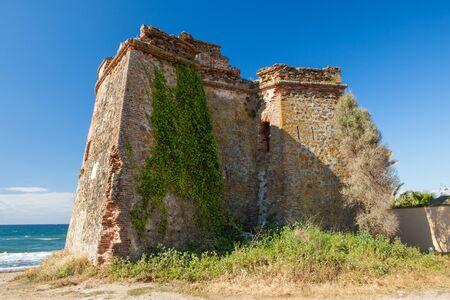 watchtower: Ancient Moorish Watchtower on the Costa del Sol, Spain
