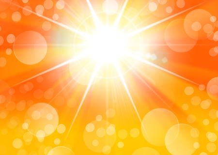 Portrait Hintergrund mit Starburst Licht und Bokeh Standard-Bild - 81382164