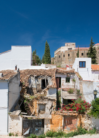 Abandoned Finca or townhouse in the City of Ronda in Spain's Malaga province, Andalusia