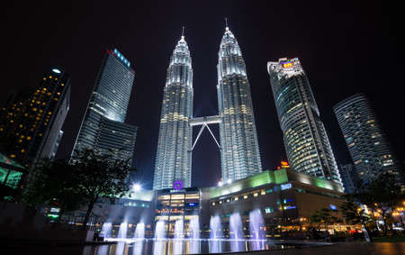 tallest: The Petronas towers, tallest buildings in malaysia Editorial