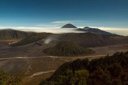 active volcano: Active volcano at Mount Bromo, Indonesia Stock Photo